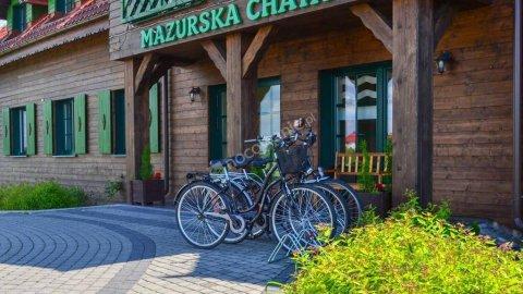 Hotelik Mazurska Chata - konkurencyjne ceny!