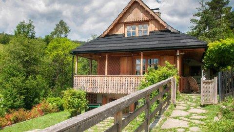 Kalinowa Chata | Domek w pięknej okolicy dla 3-4 osób