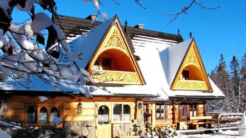 Bajkowa Chata. góralskie domki z klimatem i duszą w Tatrzańskim Parku Narodowym