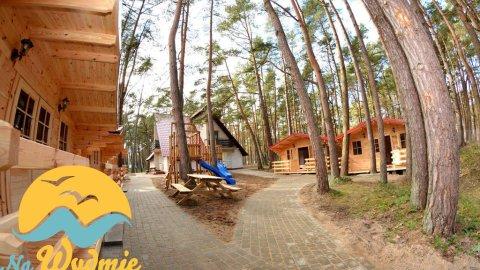 Domki w lesie sosnowym nad samym morzem idealne dla rodzin z dziećmi Na Wydmie