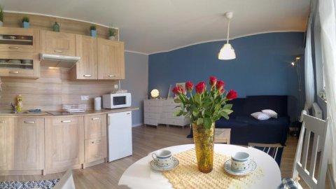 Apartament na granicy Gdańska i Sopotu - przytulnie, w świetnej lokalizacji
