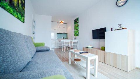 Apartament Mięta dla dla 2-4 osób | Balkon, parking, internet