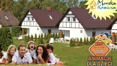 Domki z kominkami - idealne dla rodzin z dziećmi | MORSKA KRAINA