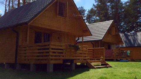 Domki Nartówka - 250 m od jeziora