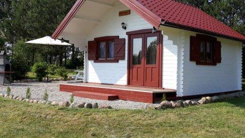 Hubertówka Czapiewice | zaciszny domek dla 6 osób | na skraju lasu | ognisko