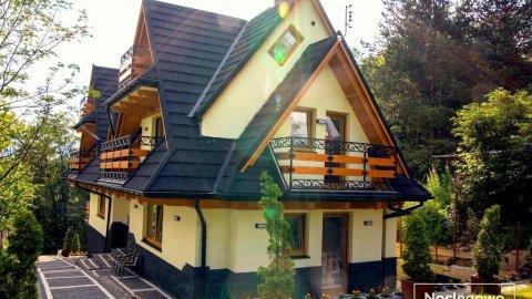Willa Dziubek - widokowe balkony!