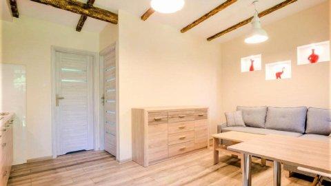 Apartamenty Agrafka k. Giżycka dla 4 osób. Prywatny pomost, łódka, wędkowanie