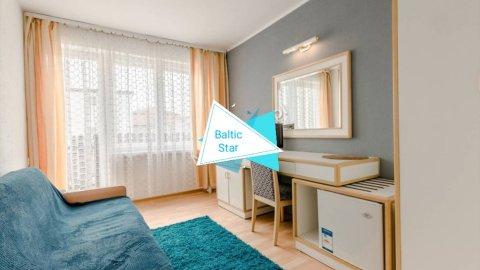 Baltic Star | Pokoje 5 minut spacerem od morza
