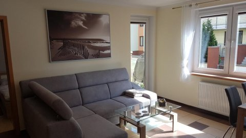 Apartament z ogródkiem Zielone Tarasy