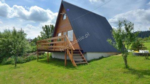 Dom, domek drewniany, nocleg Wisła