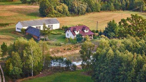 Agroturystyka Biebrzańska Gościna | stawy | piękny ogród | szlaki rowerowe