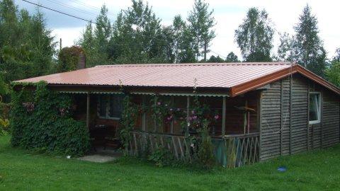 Domki pod kasztanem ,pokoje dwuosobowe,położone na wsi , blisko lasów.