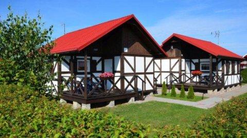 Komfortowe domki letniskowe | 10 min. spacerem do plaży