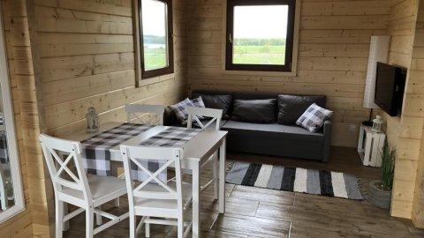 Polne domki | obok jeziora i lasów | 300 m od plaży