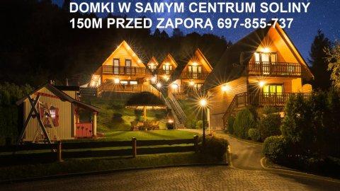 Domki w centrum Soliny - 150 metrów do zapory | Dostępne cały rok