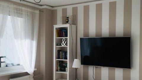 Słoneczny Apartament Zachodnie. 2 pokoje, duży balkon, pełne wyposażenie