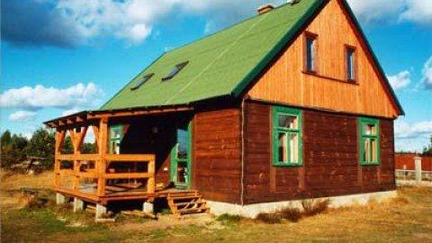 Bazuna | Drewniane chaty dla 5-10 osób | Wspaniała okolica