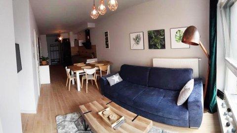 Nowoczesny Apartament nr 16 z parkingiem dla 4-6 osób