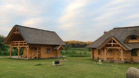 Świerkowy Eko Dom na wyłączność | wśród poziomkowych łąk | wysoki standard