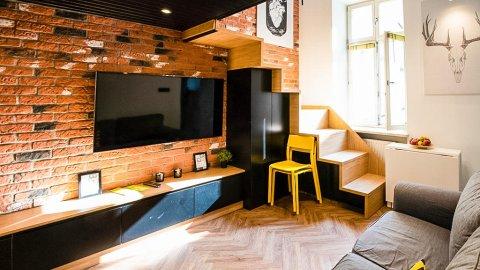MoonRoom Kazimierz | Apartament dla dwóch osób w centrum
