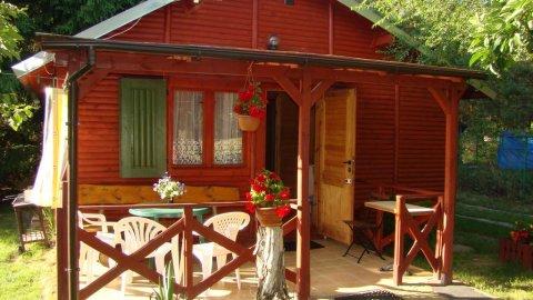 Domki drewniane nad Jez. Wilczyńskim | Pełne wyposażenie | Doskonałe dla rodzin