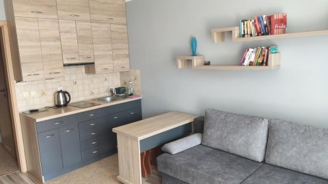 Apartament całoroczny w Krynicy Morskiej | Balkon, parking