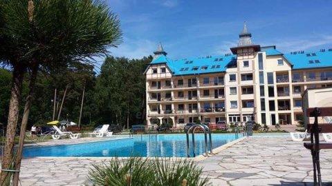 Apartamenty nad Morzem Blue Mare | Basen, widok na las, plac zabaw, parking