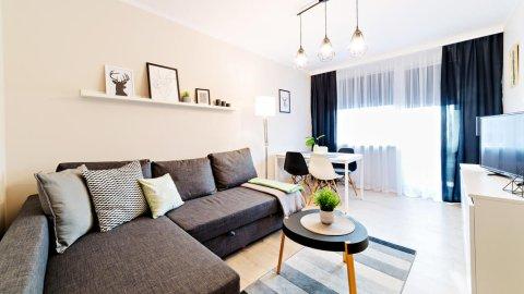 Nowoczesny, przytulny apartament w centrum Szklarskiej, szybkie Wifi, parking