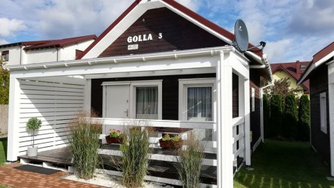 Domki letniskowe SOLE   piękny ogród i taras