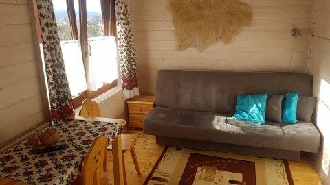 Całoroczne domki pod lasem. Idealne na rodzinny wypoczynek, plac zabaw, grill