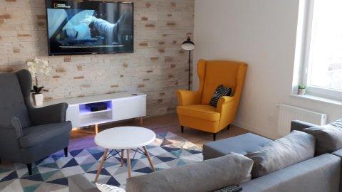 Przytulny Apartamet w centrum Szczecina 67 m2