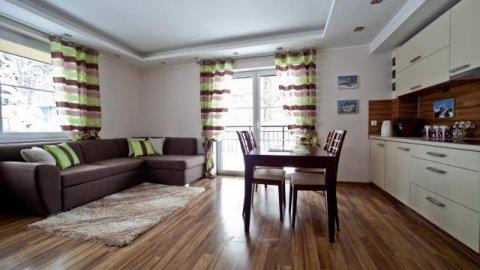 Apartament Oliwkowy w centrum miasta. 2 pokoje na wyłączność
