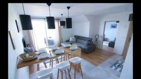 Apartament Darłówko 16 z dużym balkonem. 300 metrów do plaży