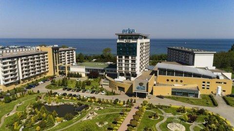 ARKA MEDICAL SPA - Prywatne apartamenty 50 metrów od morza.