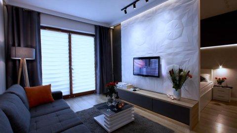 4UApart-Apartment suite Platan Grey-romantyczny apartament dla pary