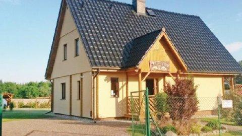 Dom wakacyjny - Wooden House Kołczewo