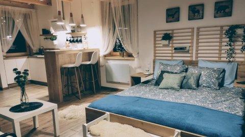 Borowikowe Zacisze - Apartament 2-osobowy z tarasem