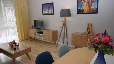 Apartament Lazurowy 200 m od plaży w Jelitkowie