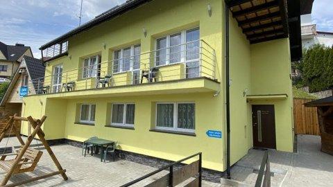 Pokoje i apartamenty Aga w centrum Wisły