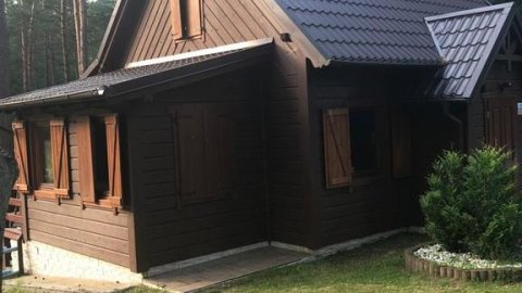 Wooden House&Pool