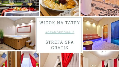 Grand Podhale Resort & Spa Noclegi Zakopane & Widok na Tatry