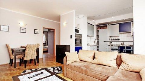 Słoneczny apartament 48m2 nad morzem Gdańsk-2 pokojowy