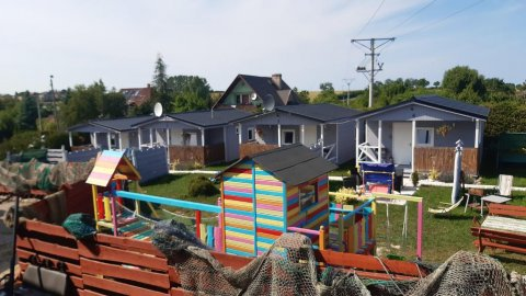 Domki JUMI Pełne wyposażenie, parking, grill,basen