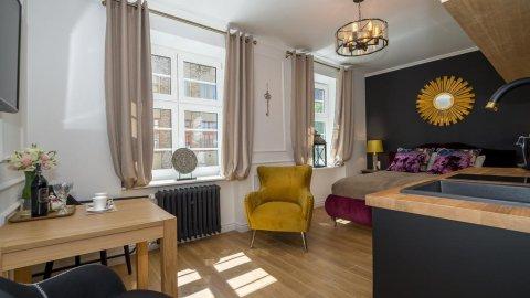 Stylowy apartament z pięknym widokiem na Bazylikę i Ratusz Główny