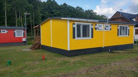Domek żółty