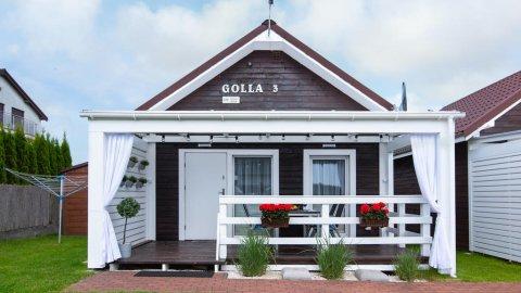 Domki letniskowe SOLE | piękny ogród i taras