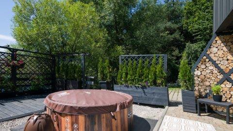 Domek do wynajęcia, prywatne, zew. Jacuzzi, LAS, Ogród, Grill, Panorama Chełm