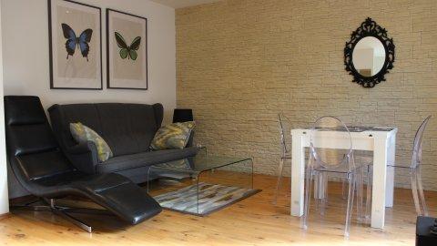 Apartament 007 A w Karpaczu. Pełne wyposażenie, 2 sypialnie + salon. Balkon
