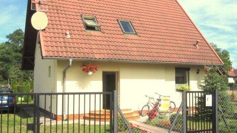 Wrzosowy Dom wolnostojący z ogrodem. Idealny dla grupy 6 -10 osobowej.