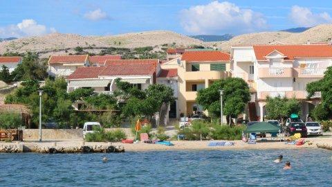 """Apartamenty """"Ana"""" Wyspa Pag, 20 m od morza"""